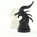Bahamut Chess Piece